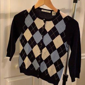 Autumn Cashmere Cropped Cardigan (XS)
